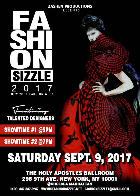 Fashion Sizzle Show Independent Designer Showcase New York
