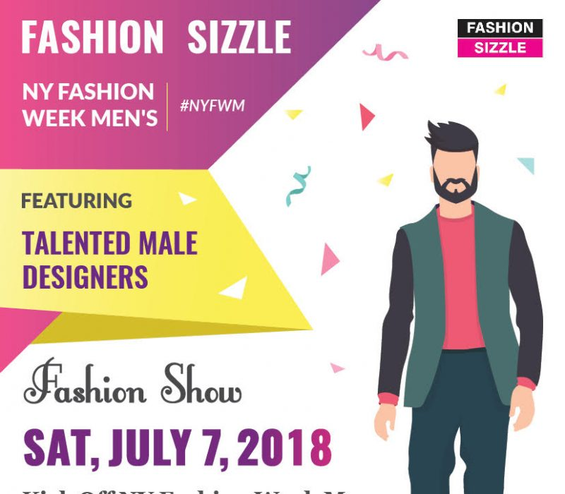 Fashion Sizzle NYFW Menswear Fashion Show 2018