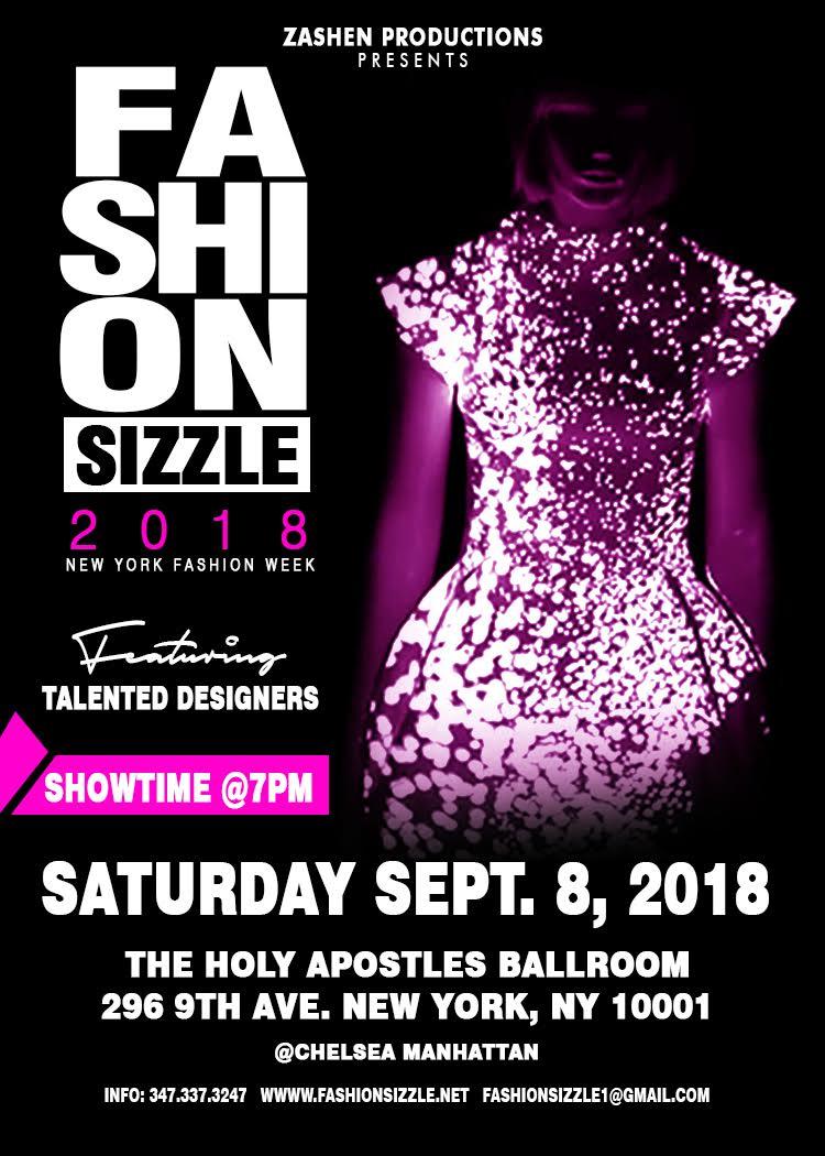 Fashion Sizzle NYFW Fashion Show 2018