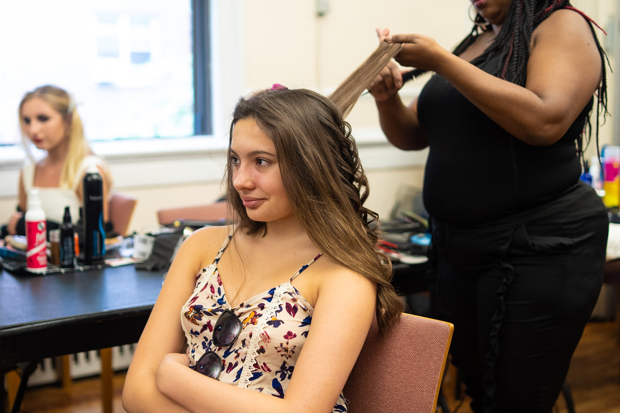 Behind The Scenes Hair @ Fashion Sizzle 2018