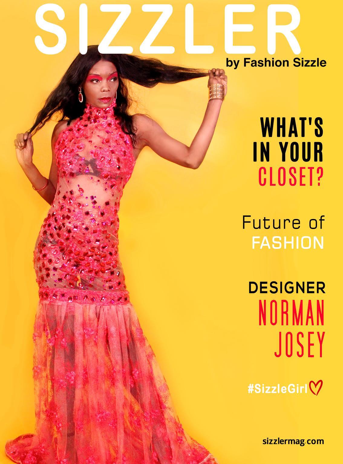 NORMAN JOSEY Of Lockdown International Designs @ Fashion Sizzle NYFW