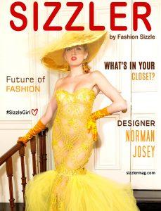 Sizzler Magazine Features Designer NORMAN JOSEY Of Lockdown International Design
